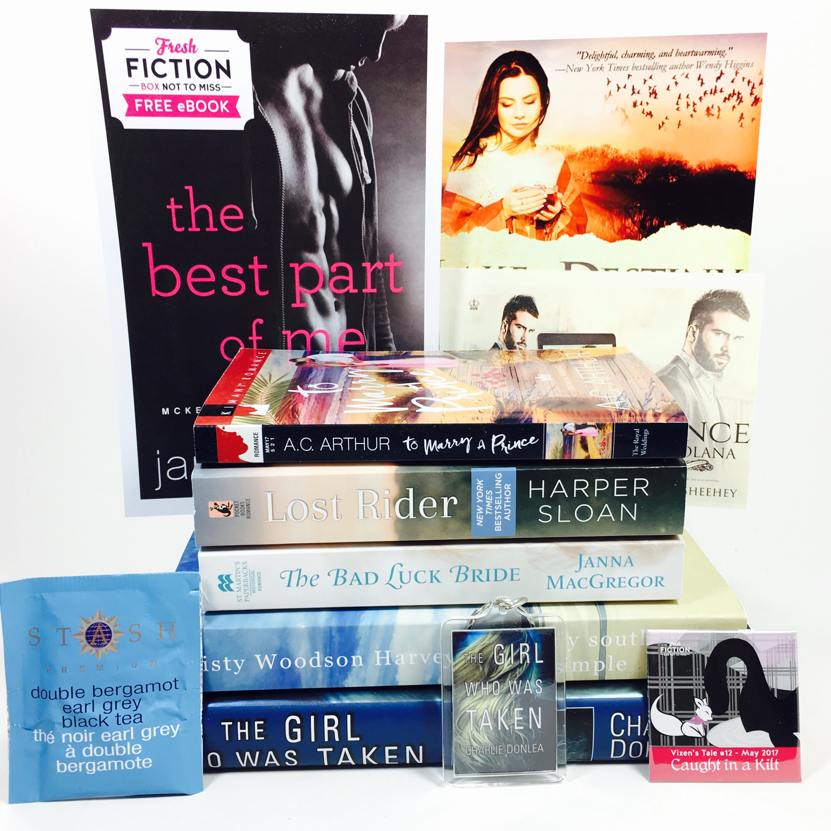 Fresh Fiction Box May 2017 Subscription Box Review + Coupon