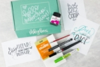 The Inky Box May 2017 Subscription Box Review + Coupon!