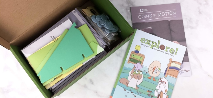 Kiwi Crate May 2017 Review & Coupon – COINS IN MOTION!