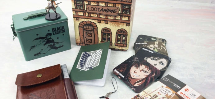 Loot Anime April 2017 Subscription Box Review & Coupons – HUMANITY