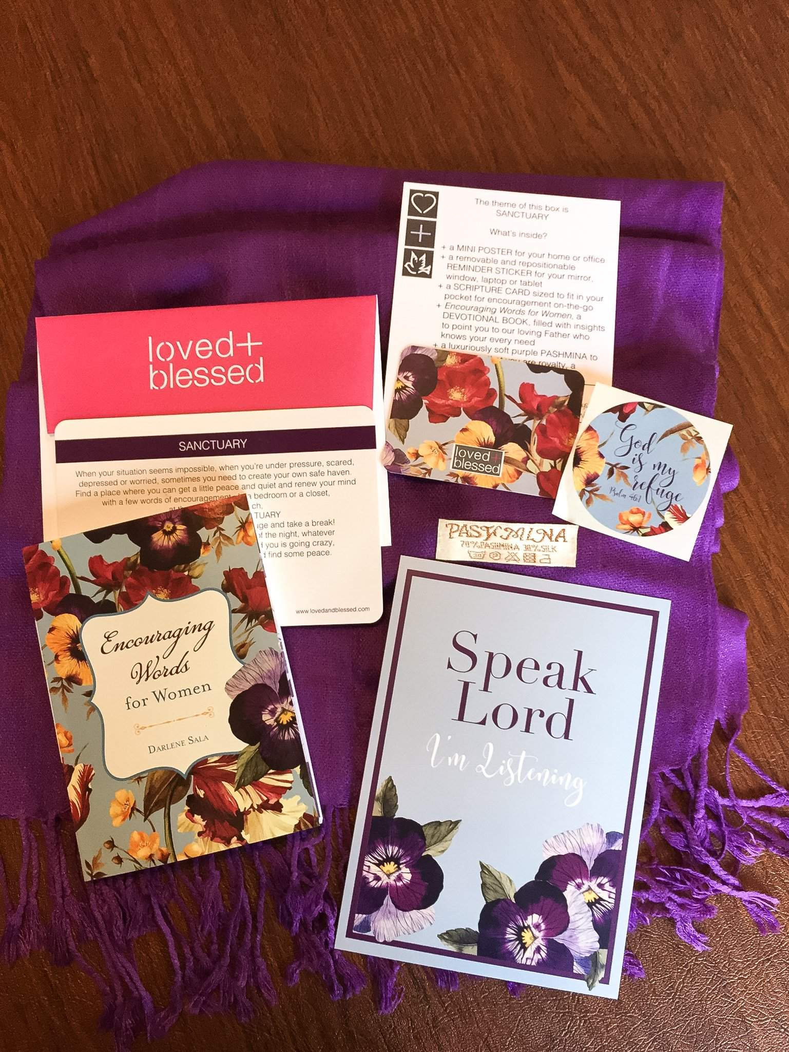 Loved+Blessed June 2017 Subscription Box Review + Coupon
