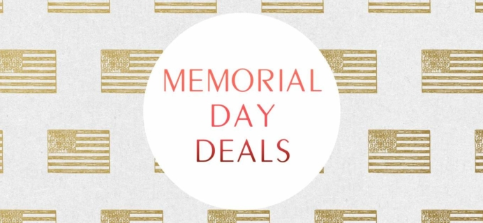 Last Call for the Best Memorial Day Subscription Box Deals
