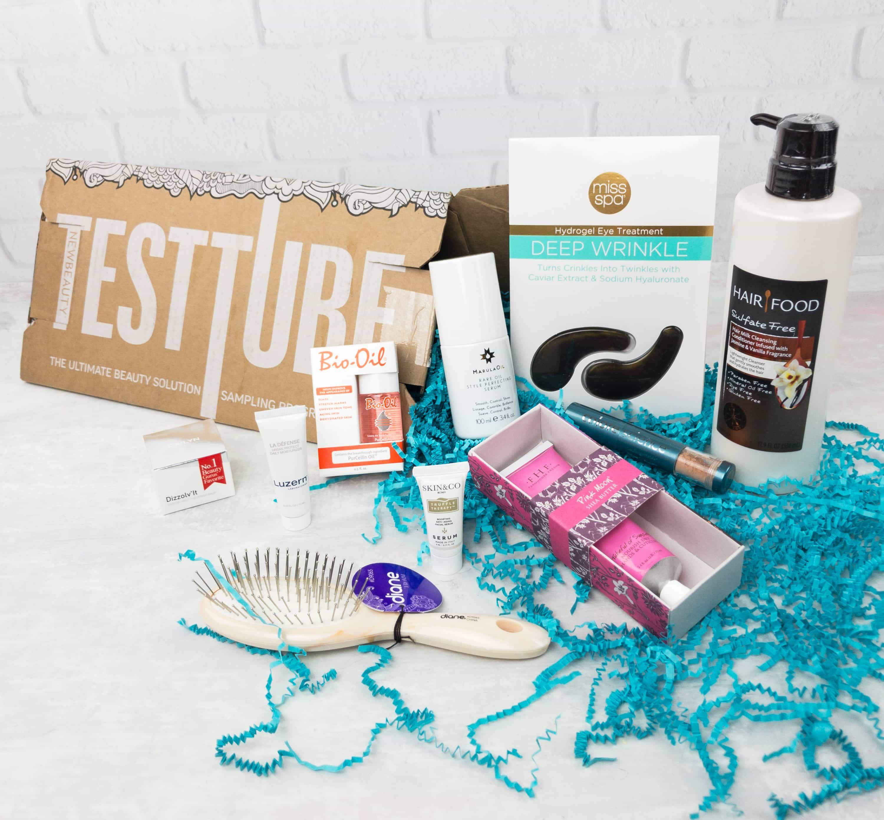 New Beauty Test Tube May 2017 Subscription Box Review + Coupon