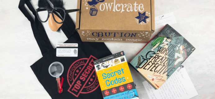 OwlCrate Jr. May 2017 Box Review + Coupon