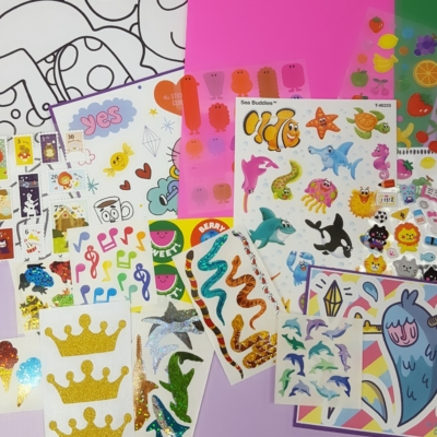 Pipsticks May 2017 Kids Club Sticker Subscription Review & Coupon