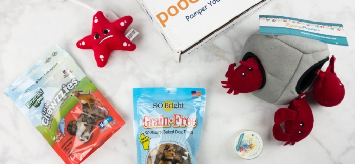 Pooch Perks June 2017 Subscription Box Review + Coupon!