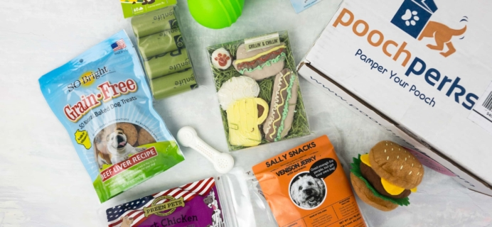 Pooch Perks May 2017 Subscription Box Review + Coupon!