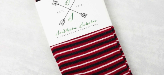 Southern Scholar Men's Sock Subscription Box Review & Coupon – May 2017