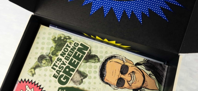 The Stan Lee Box April 2017 Subscription Box Review