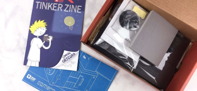 Tinker Crate May 2017 Review & Coupon – CAMERA OBSCURA