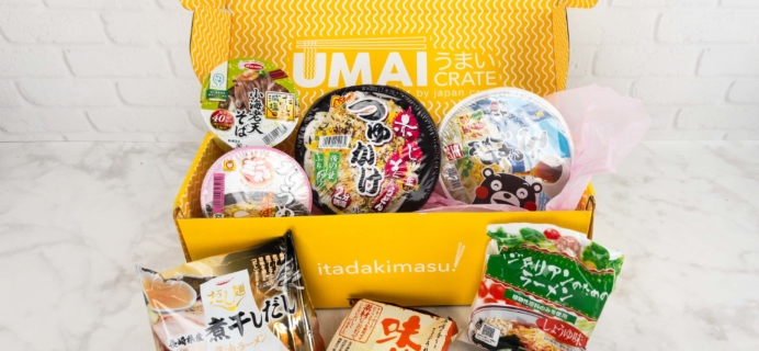 Umai Crate May 2017 Subscription Box Review + Coupon