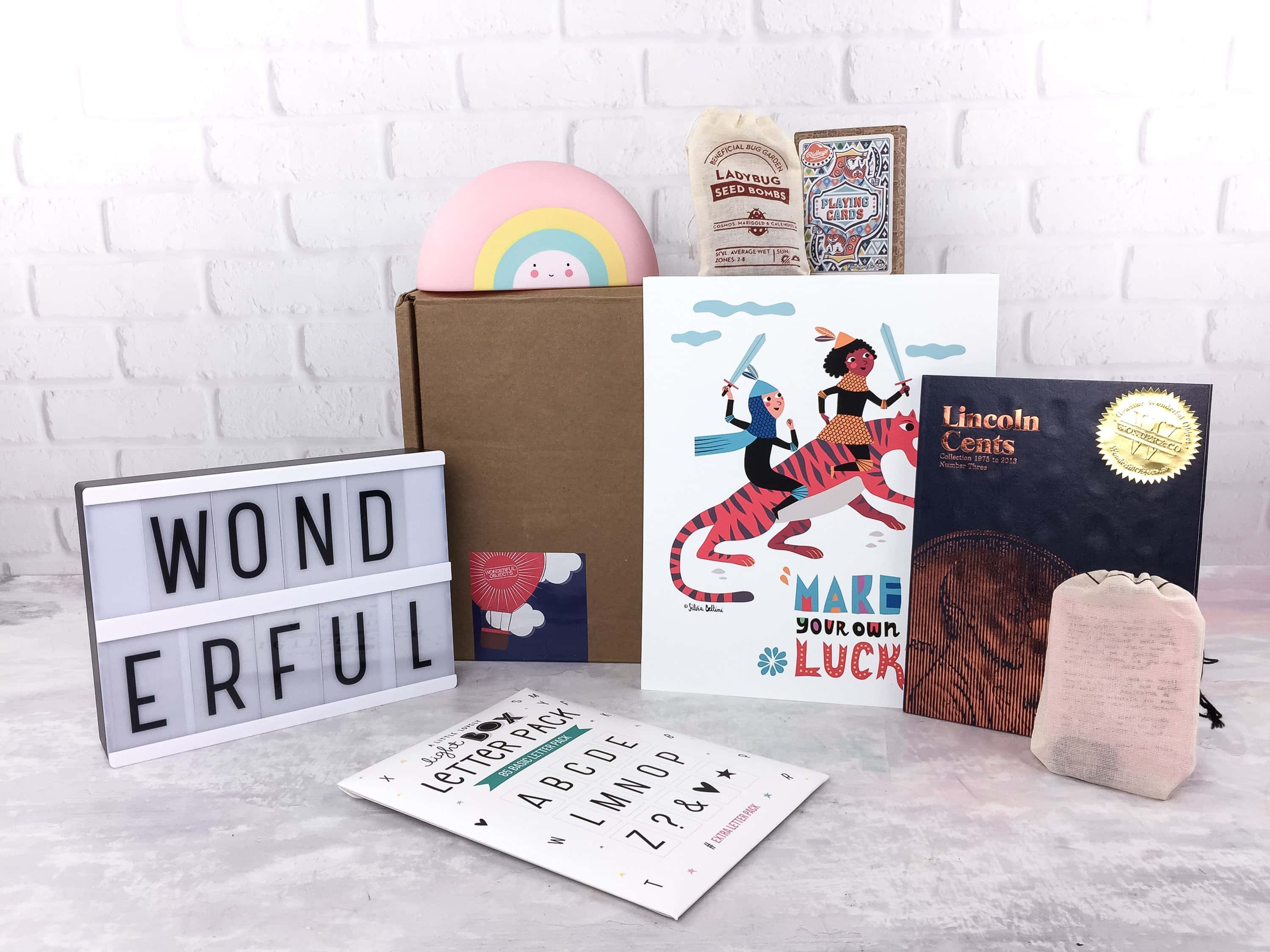 Wonderful Objects Kids Subscription Box Review + Coupon – Spring 2017