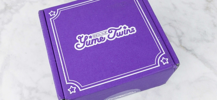 YumeTwins June 2017 Subscription Box Review + Coupon
