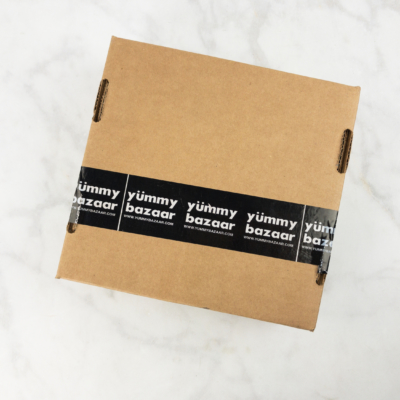 Yummy Bazaar April 2018 Sampler Box Spoilers!