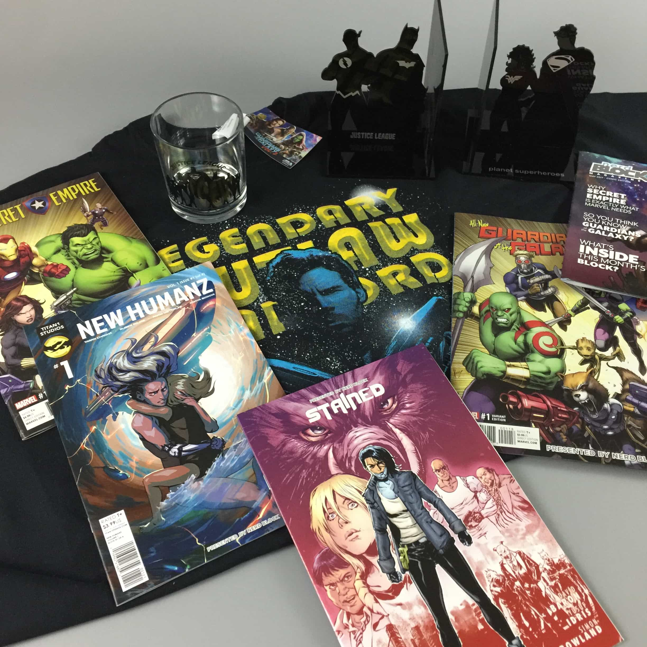 Comic Block Subscription Box Review & Coupon – May 2017