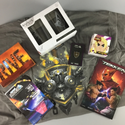 Gamer Block: M for Mature May 2017 Subscription Box Review + Coupon