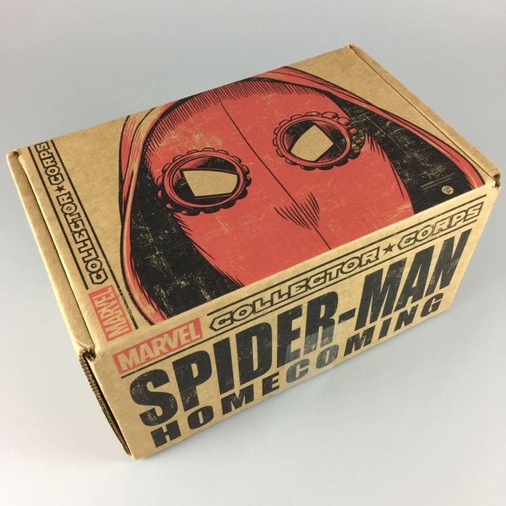 b4e4878364f Marvel Collector Corps June 2017 Subscription Box Review – Spider-Man   Homecoming