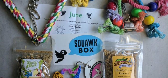 Squawk Box Subscription Box Review – June 2017