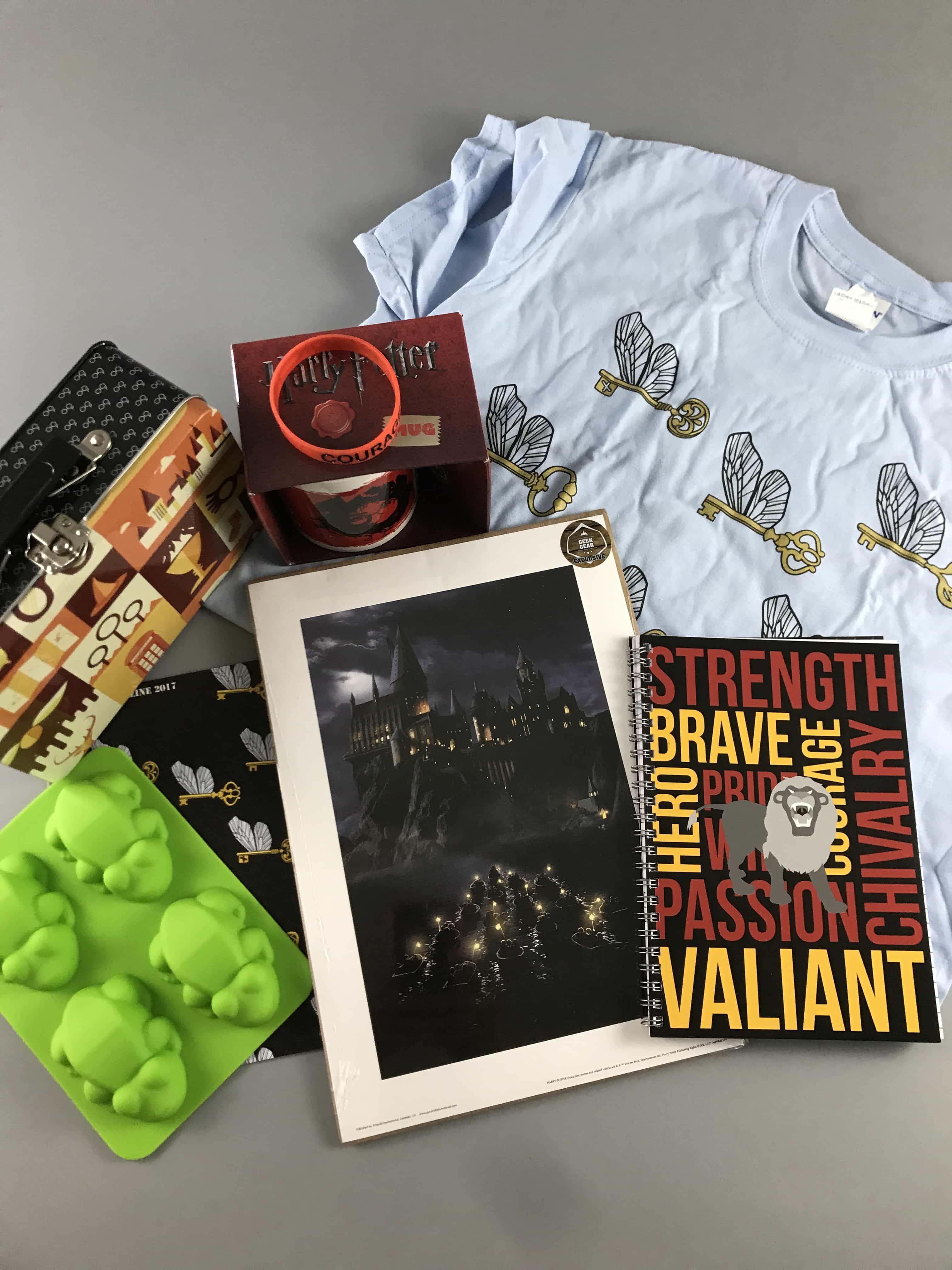 Geek Gear World of Wizardry May 2017 Subscription Box Review