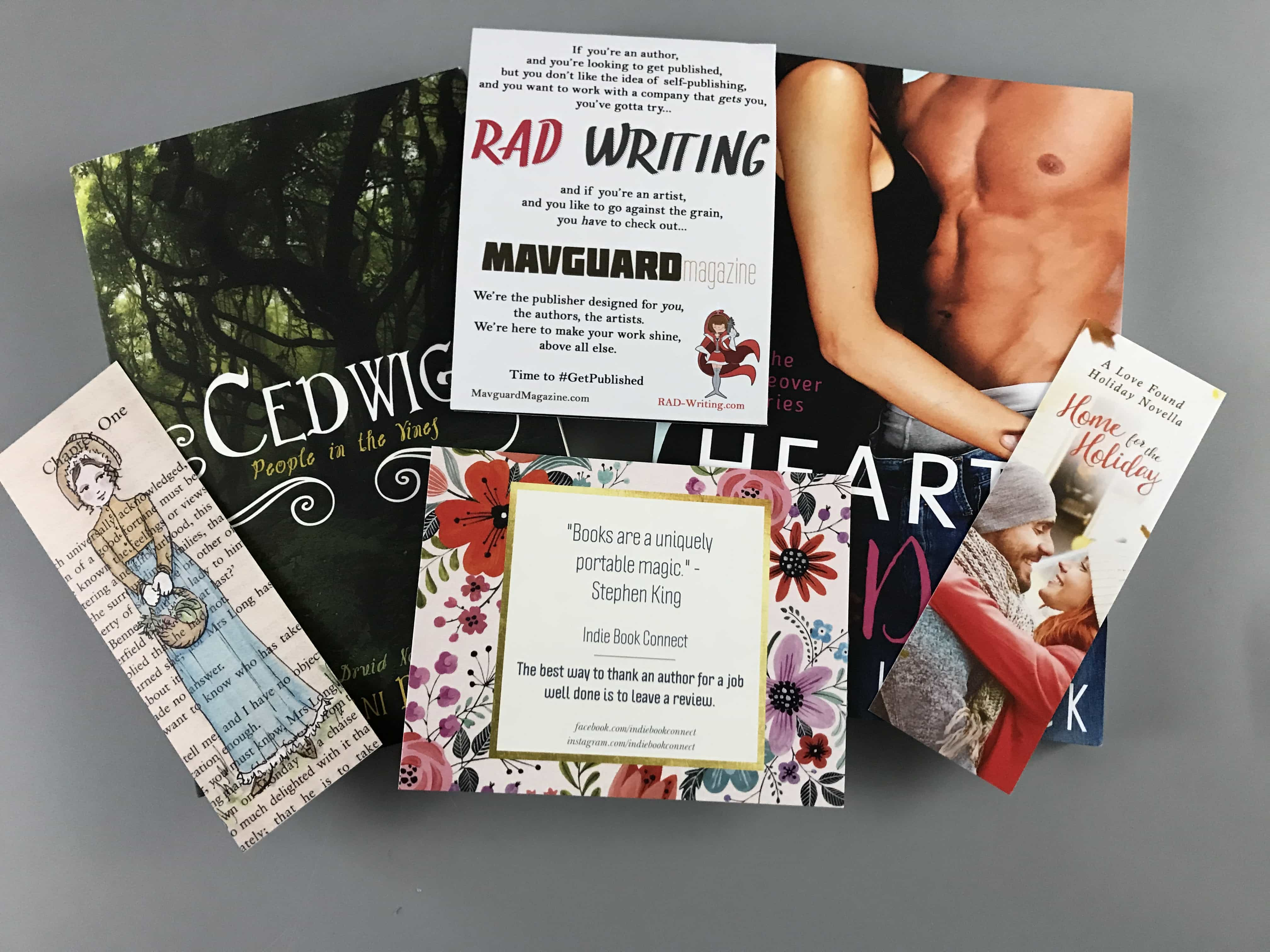 Indie Book Connect Subscription Box Review + Coupon – June 2017