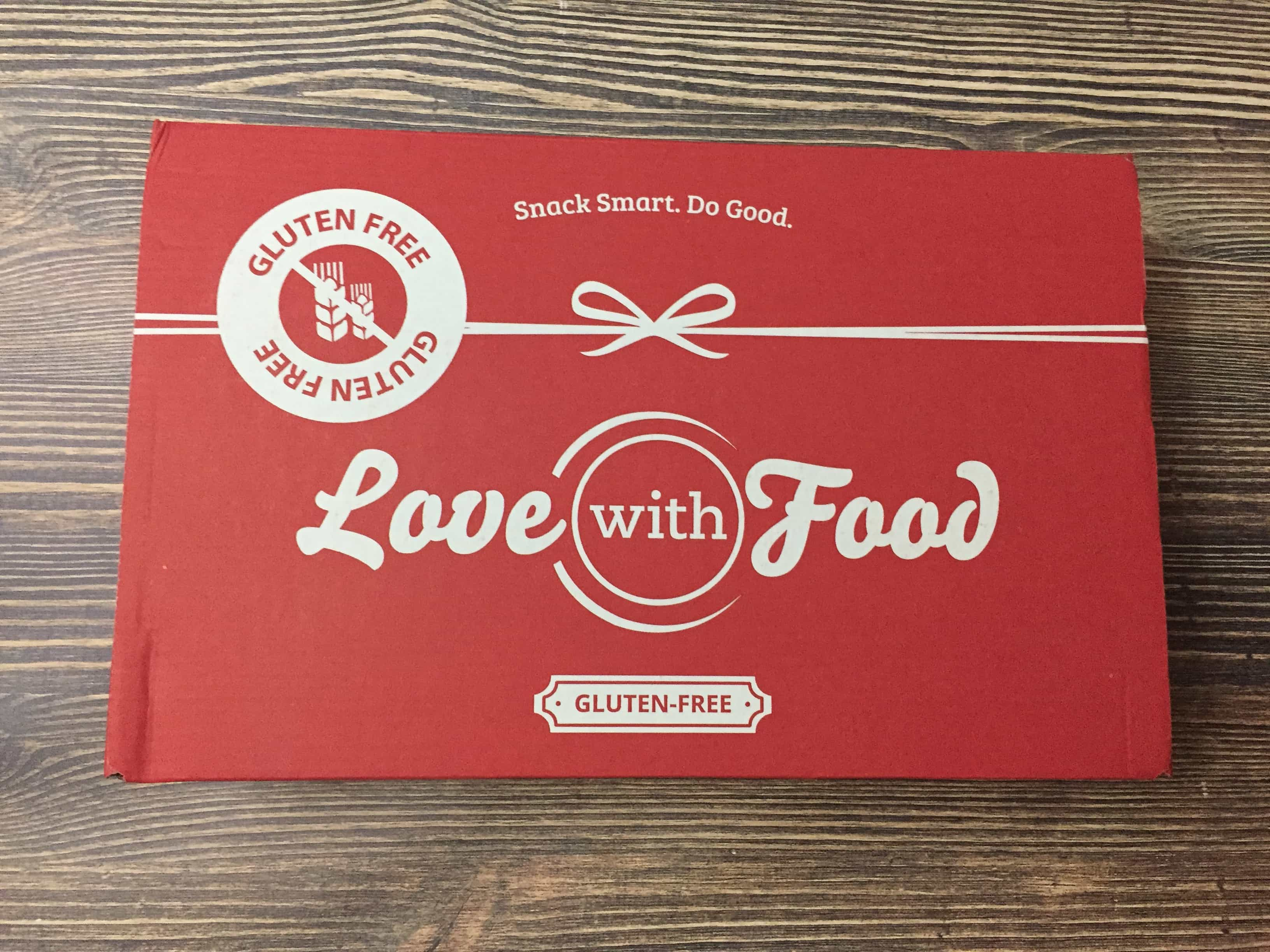 Love With Food Gluten-Free June 2017 Subscription Box Review + Coupon