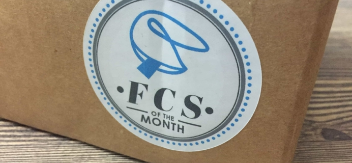 FCS of the Month June 2017 Subscription Box Review