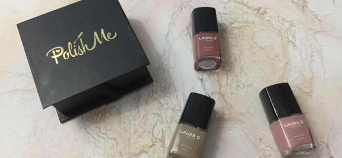 PolishMe July 2017 Subscription Box Review + Coupon