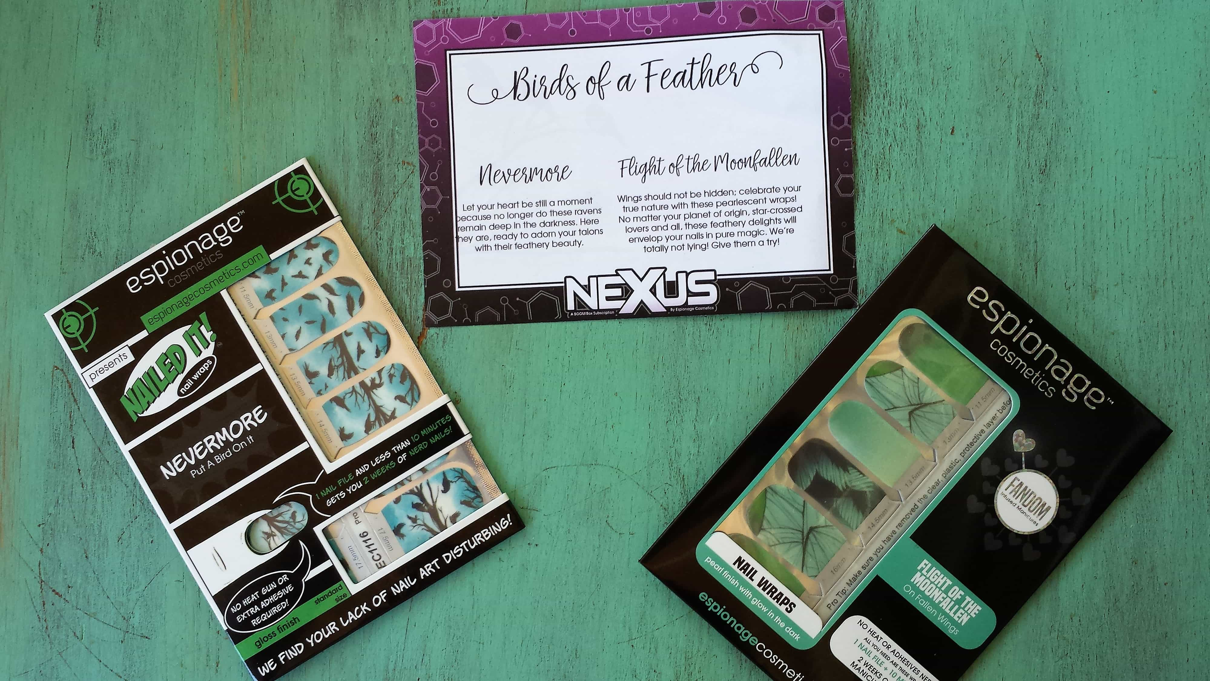 Nexus by Espionage Cosmetics April 2017 Subscription Box Review + Coupon