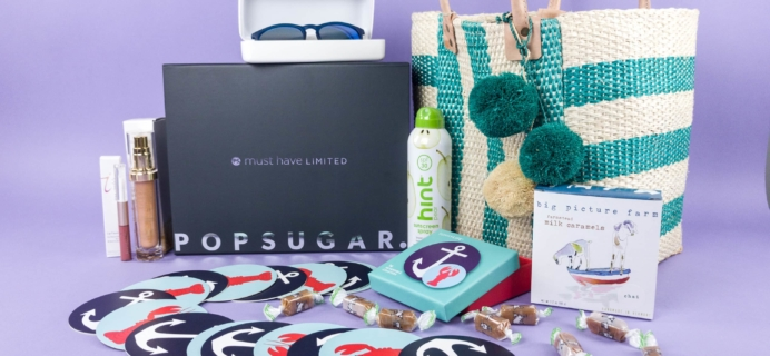 Popsugar Must Have Summer 2017 Limited Edition Box Review
