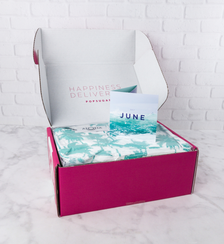 POPSUGAR Must Have Box June 2017 Review & Coupon - hello