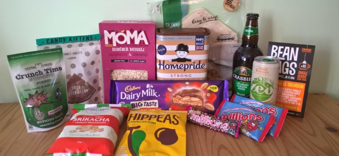 DegustaBox UK May 2017 Subscription Box Review