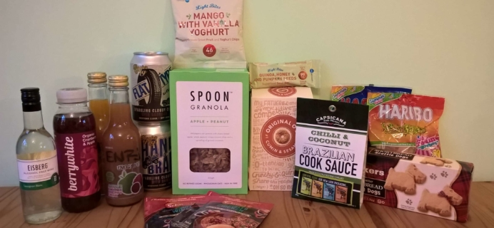 DegustaBox UK June 2017 Subscription Box Review
