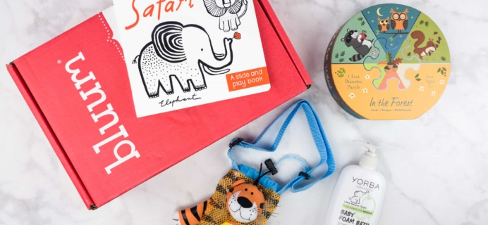 Bluum June 2017 Subscription Box Review + Coupon