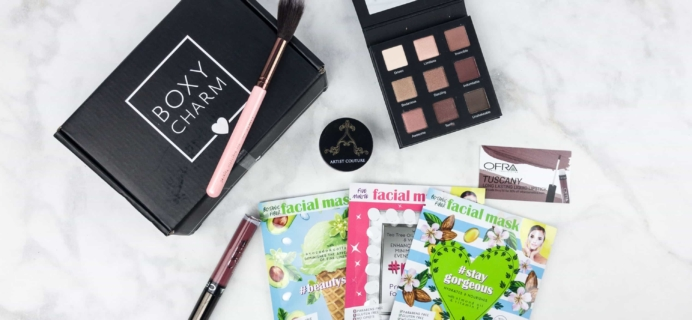 BOXYCHARM June 2017 Subscription Box Review