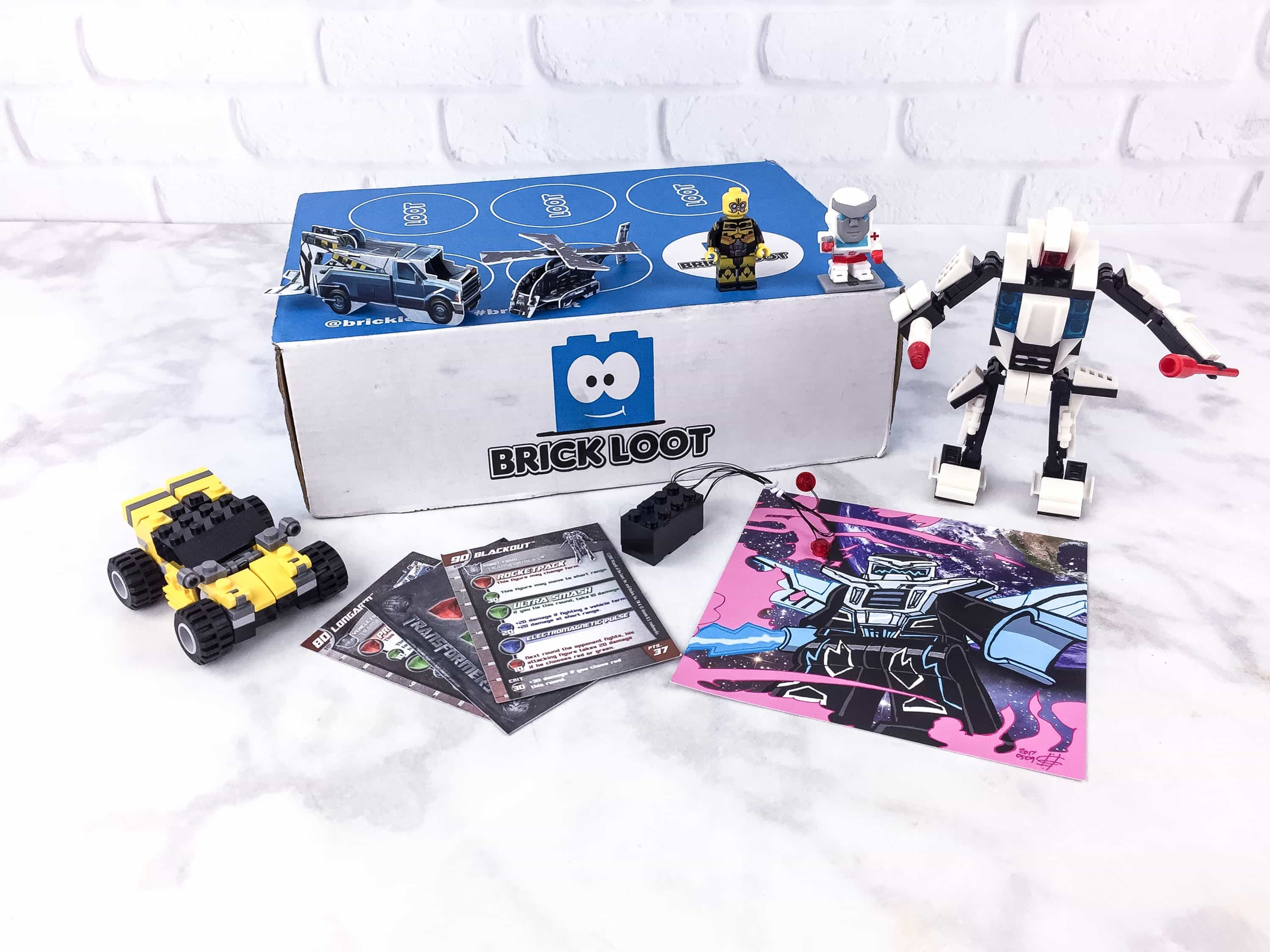 Brick Loot June 2017 Subscription Box Review & Coupon