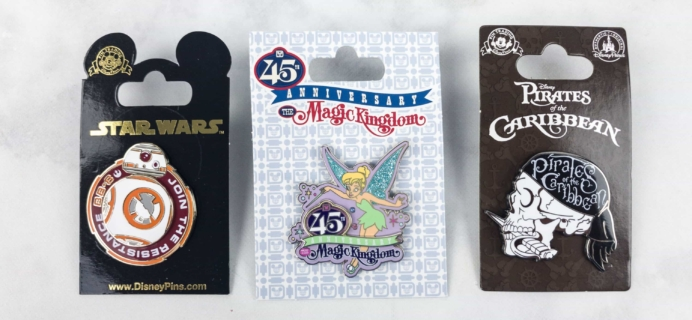 Disney Park Pack June 2017 Subscription Box Review – Pin Trading Edition