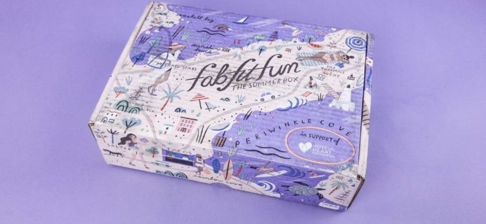 FabFitFun Summer 2017 Subscription Box Review + $10 Coupon