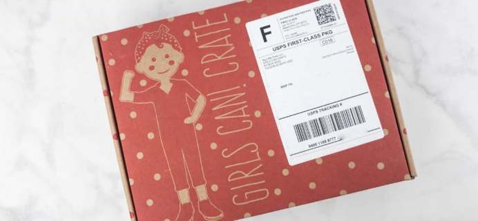 Girls Can! Crate June 2017 Subscription Box Review + Coupon