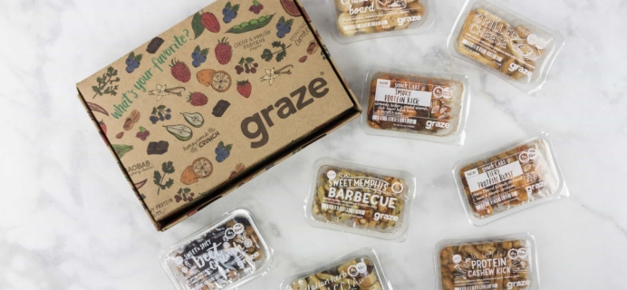Graze Savory Box Review & Free Box Coupon – June 2017