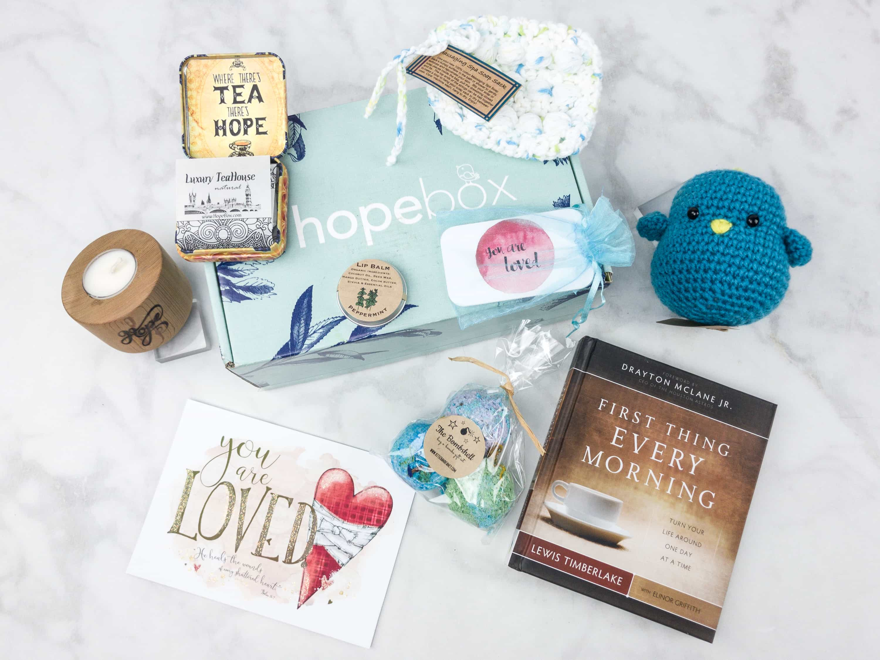 Hopebox May 2017 Subscription Box Review