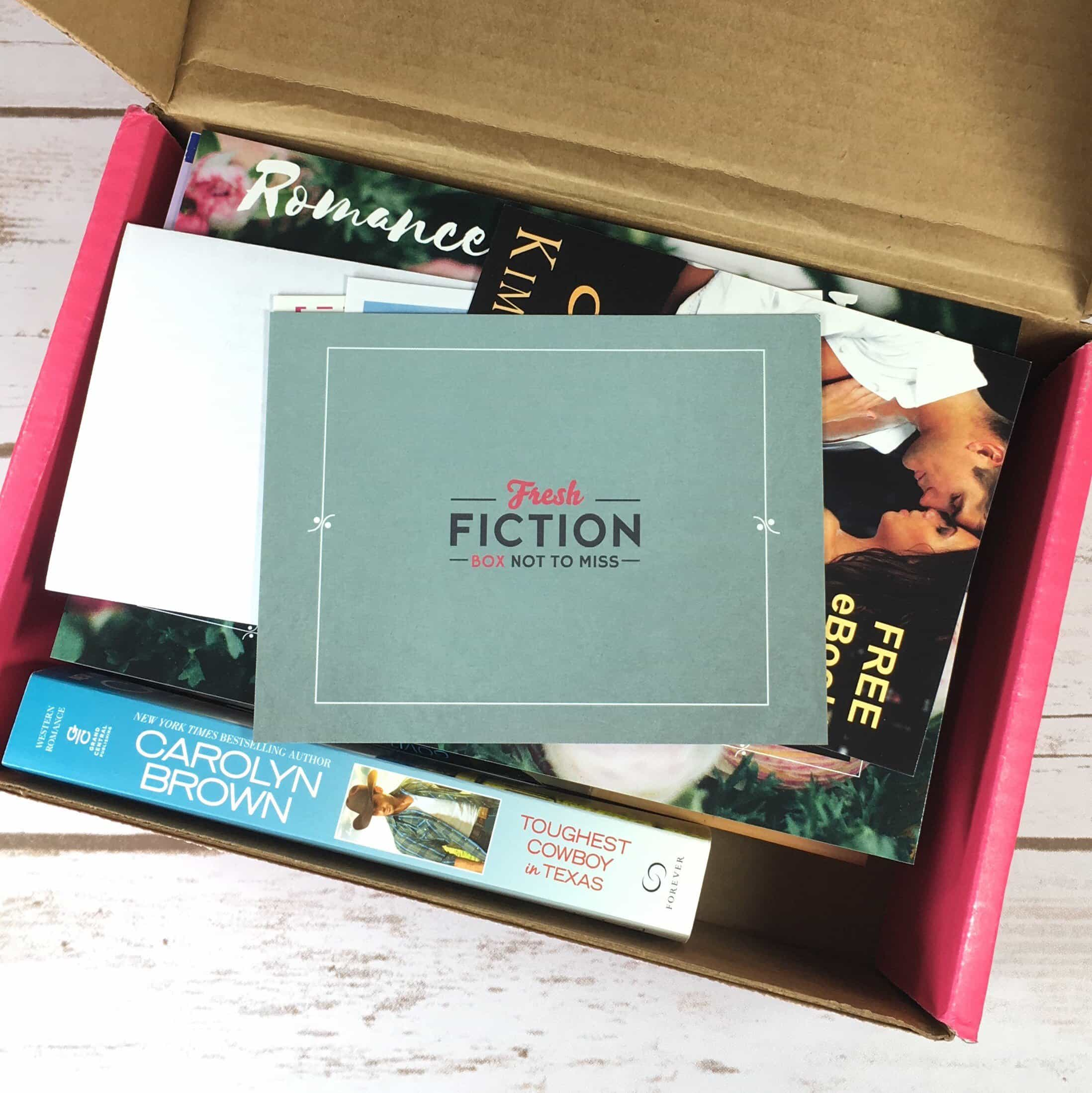 Fresh Fiction Box June 2017 Subscription Box Review + Coupon