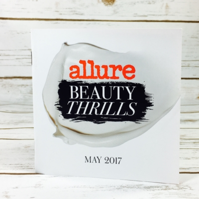 Allure Beauty Thrills May 2017 Subscription Box Review
