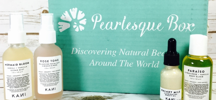 Pearlesque Box June 2017 Subscription Box Review + Coupon