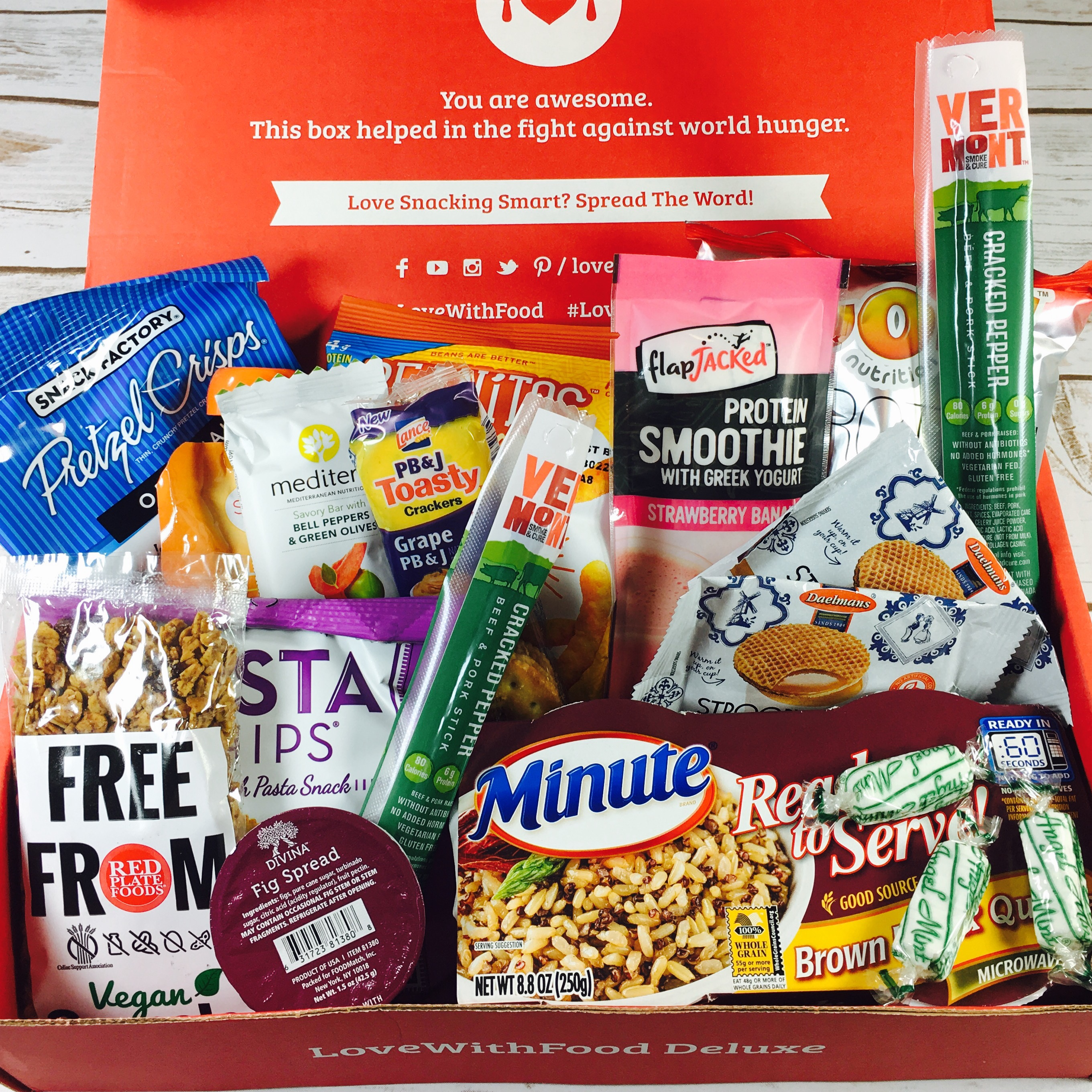 Love With Food June 2017 Deluxe Box Review + Coupon