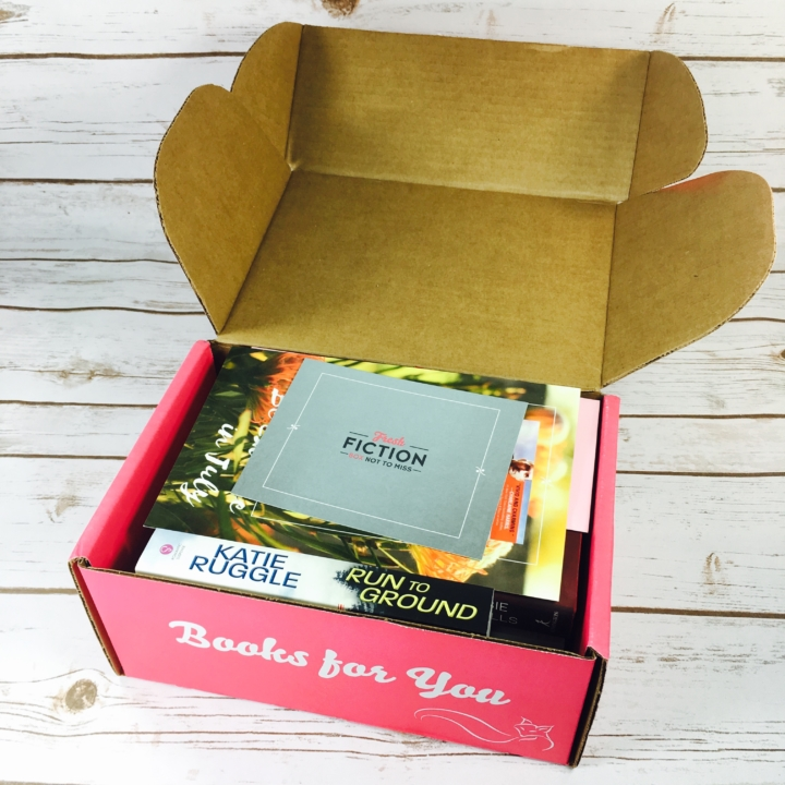 Fresh fiction box july 2017 subscription box review coupon hello deal save 3 on your first fresh fiction not to miss box with coupon code hello fandeluxe Images