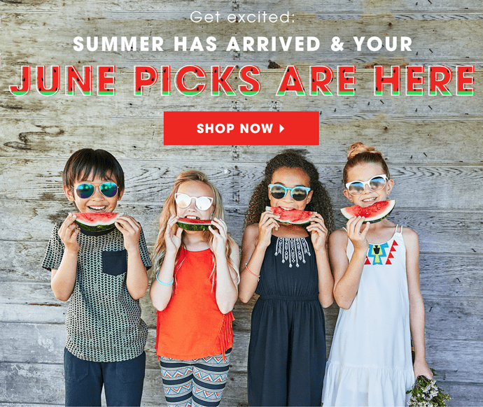 FabKids June 2017 Collection + Coupon!