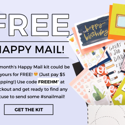 A Beautiful Mess Happy Mail Free May Box Coupon
