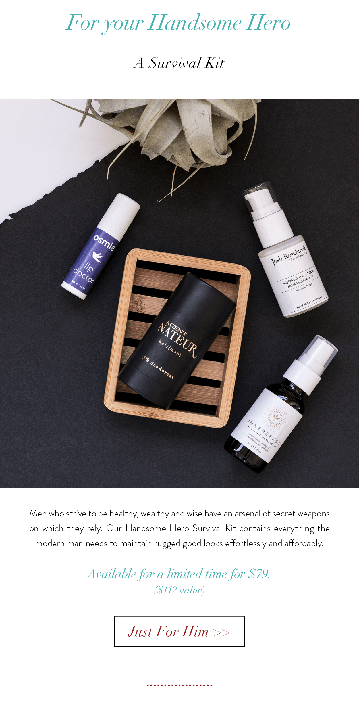 Beauty Heroes Father's Day Box Available Now!