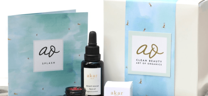The Clean Beauty Box by Art of Organics June 2017 Full Spoilers + Coupon!
