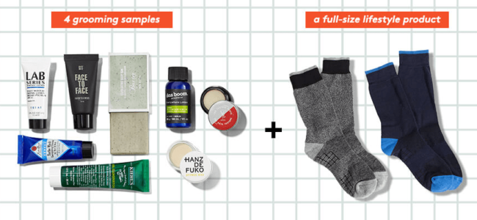 Birchbox Man Plus January 2019 Lifestyle Item Selection Time!
